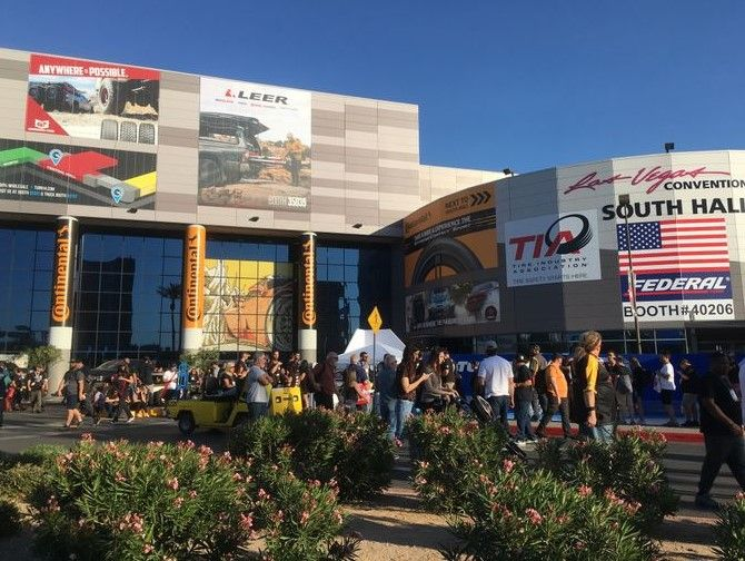 Face masks or face shields will be mandatory at this year's SEMA Show. -
