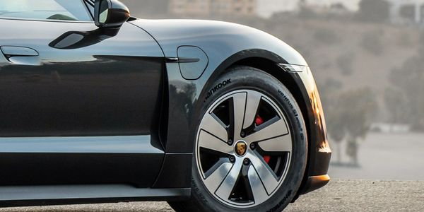 Hankook's Ventus S1 evo 3 ev tires have earned an OE fitment on the Porsche Taycan.