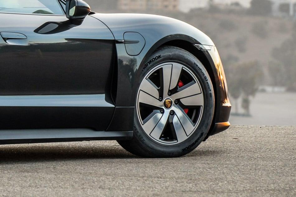 Hankook Develops Tire for All-Electric Porsche Sports Car