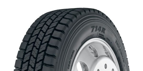 Yokohama Adds Sizes to 714R Truck Tire