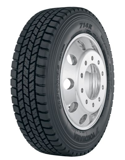 - Unveiled earlier this year, the open shoulder drive tire is now available in sizes 225/70R19.5 (14) and 245/70R19.5 (16).