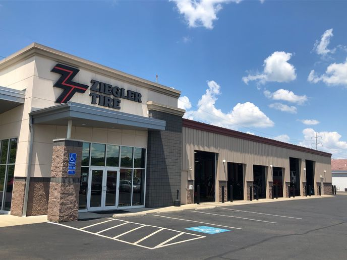 """The current strategy for Ziegler Tire is to """"buy what we need and not anymore than what we need."""" -"""