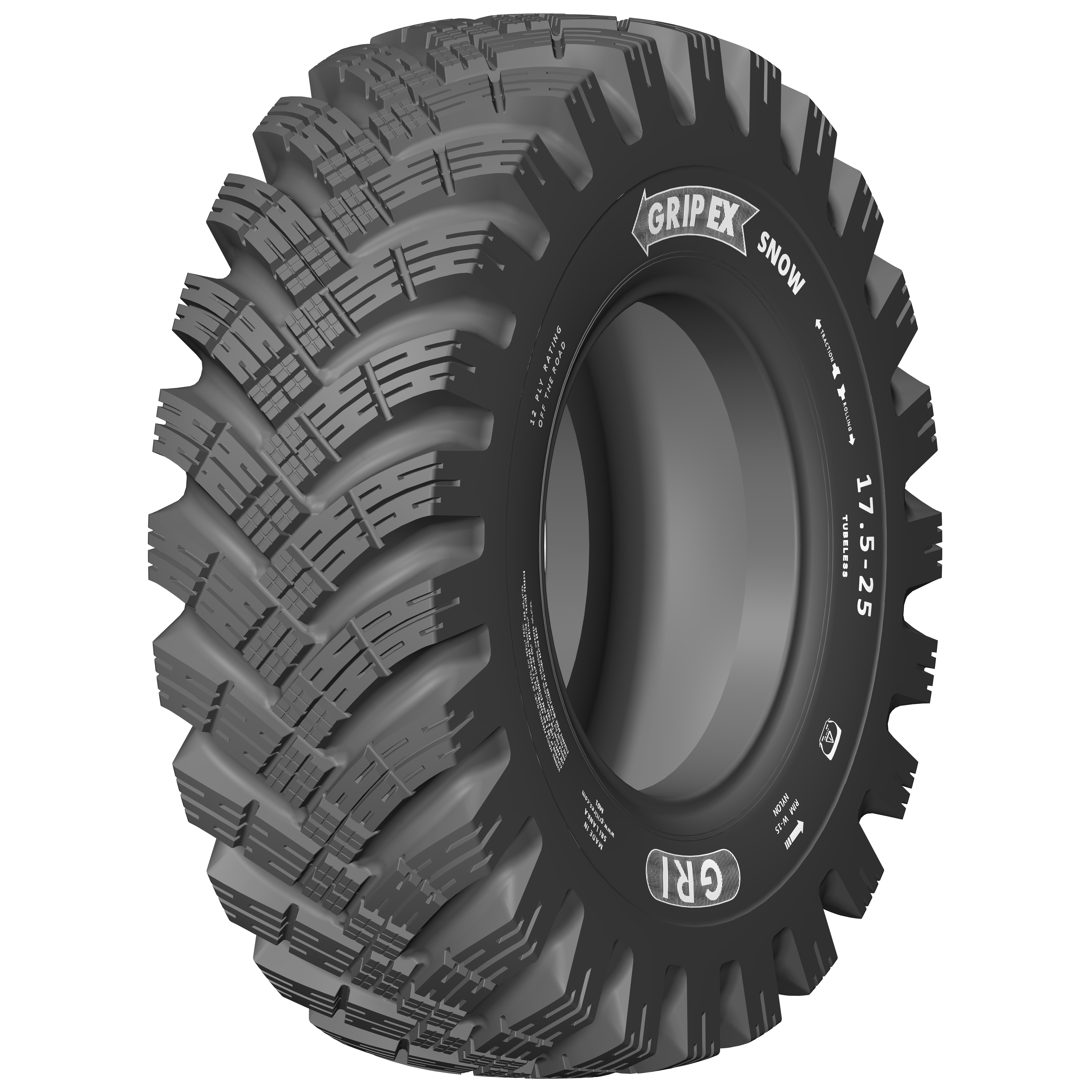 GRI Introduces OTR Tire for Winter Use