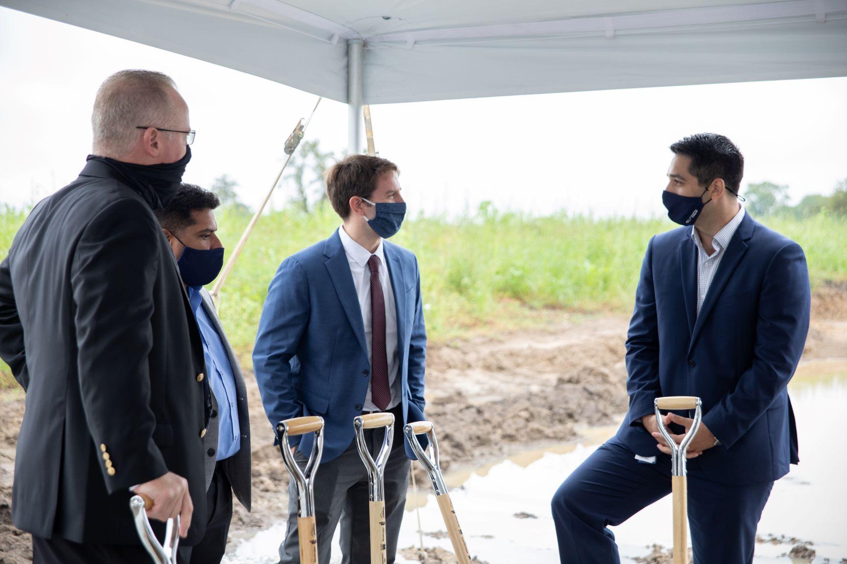 Cooper Breaks Ground on New Distribution Center