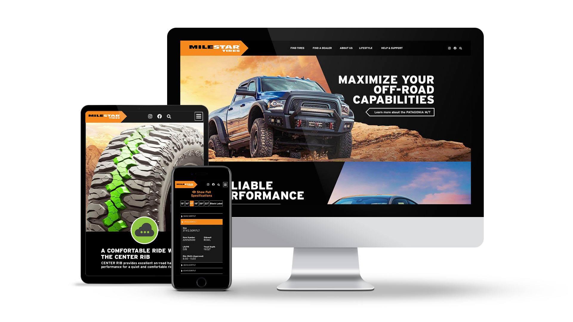 Milestar Website Update Is Interactive