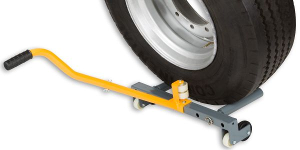 The Winntec Truck Wheel Dolly helps technicians safely install and uninstall truck tire and...