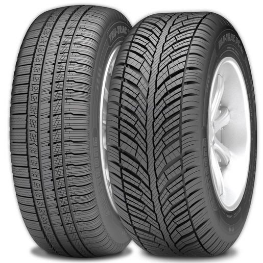 The ArmstrongBlu-Trac PC Flex and Tru-Trac SU Flex tires come with a 50,000 mile warranty. -