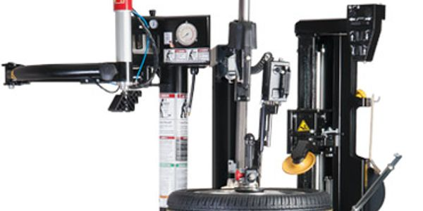 The new Coats APS 3000 tilt-back changer is designed to service delicate, high-end tire/wheel...