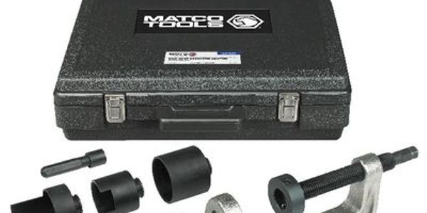 The ball joint adapter kit includes seven adapters that cover 235 vehicle models.