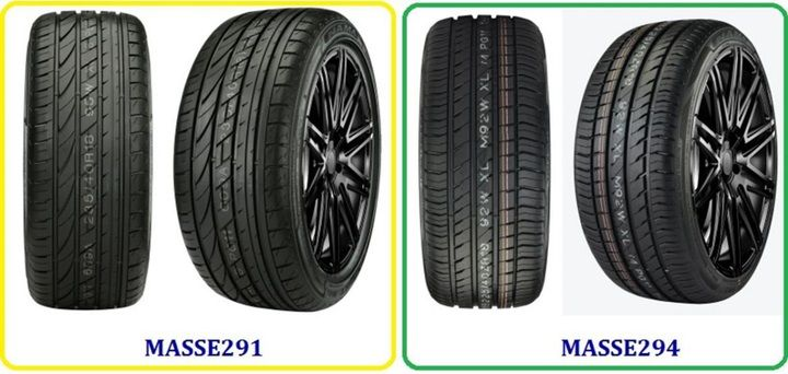 Nama says its run-flat tires are made from a compound that provides reinforced sidewalls. -