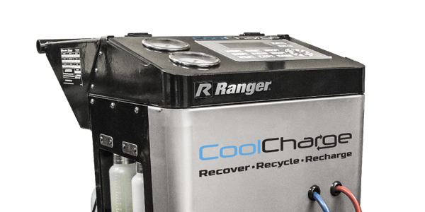 The Ranger AC-134 CoolCharge machine's programmable vacuum allows for fast recharge and recovery...