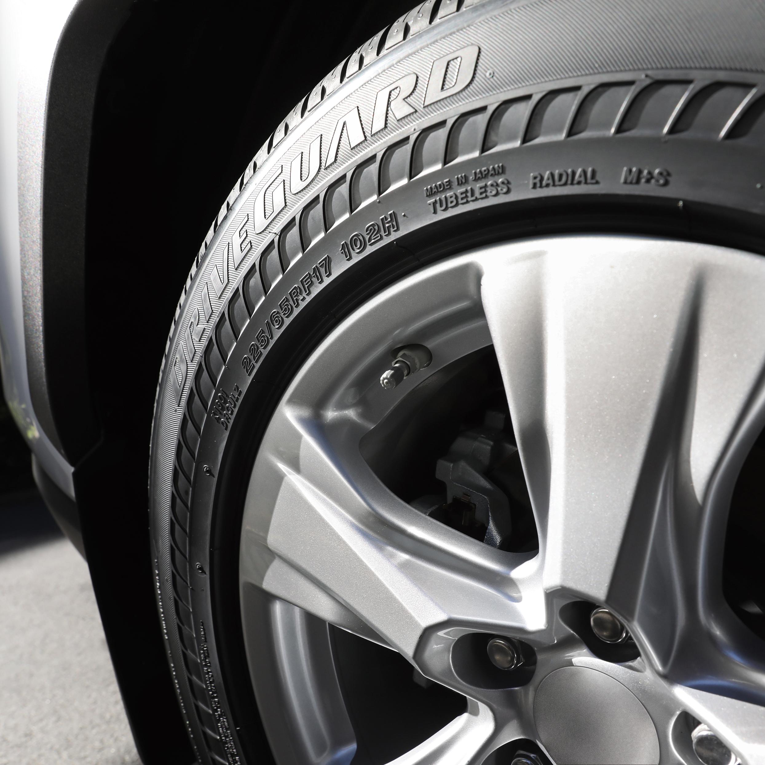 Bridgestone DriveGuard Comes in 50+ Sizes
