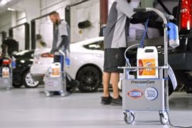 PrecisionCare Powered by Clorox Sanitizes Vehicles