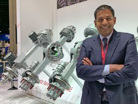 Q&A: Meritor's Villavarayan on Electrification, Air Disc Brakes