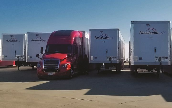Nussbaum started installing Phillips Connect Technologies smart trailer technology on its fleet last month.