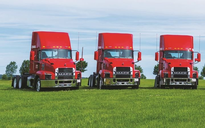 System Freight Inc. specs fuel-efficient tractors and freight-efficient trailers. -
