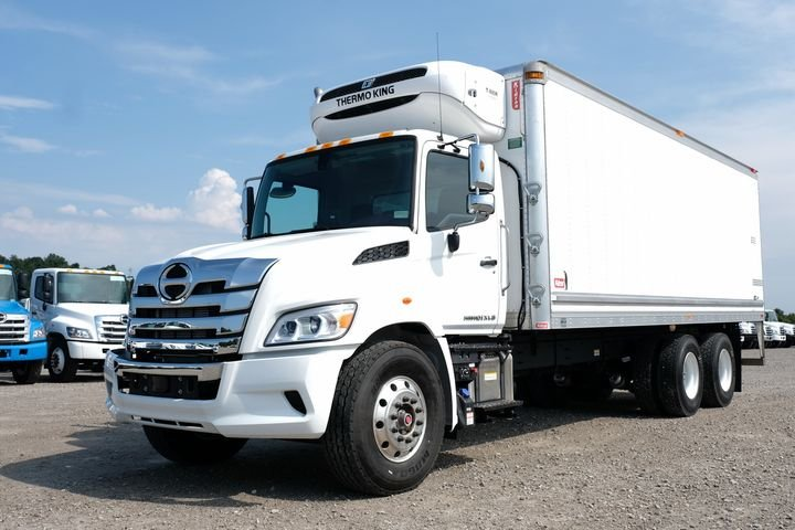 Hino has beefed up its North American medium duty trucks. And the HL8 model is the first of these brawnier conventionals to hit the road in North America.
