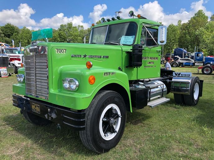 Antique trucks in Canada