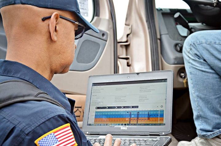 Data transfer of the driver's record of duty status to the enforcement official's ERODS program is one of the key differences between an ELD and an AOBRD.