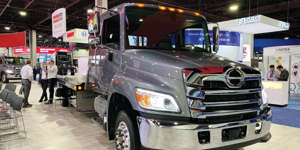 Safety systems currently available on heavy-duty Hino trucks will begin finding their way onto...