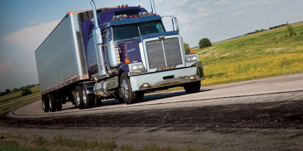 """The North American trucking industry """"is clearly staring excess capacity in the face,"""" says..."""