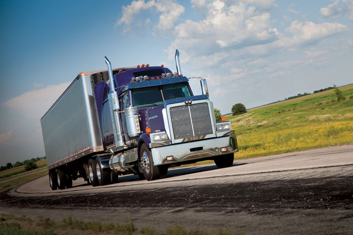 "The North American trucking industry ""is clearly staring excess capacity in the face,"" says Steve Tam of ACT Research.