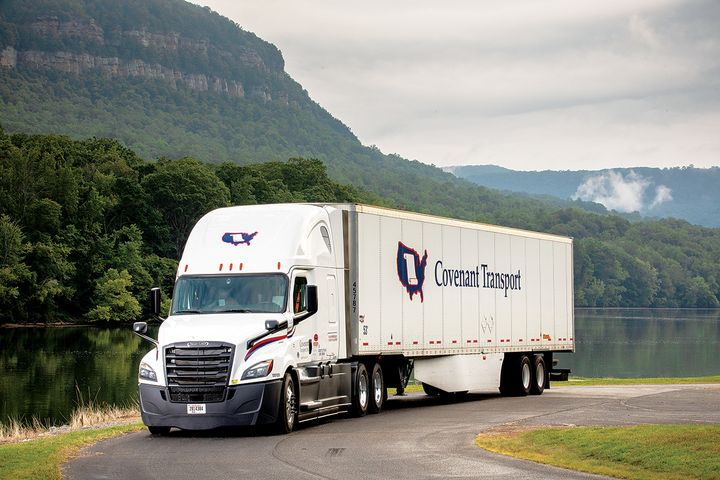 The fleet is currently testing three different electric APUs in long-haul service during both summer heat and winter cold. - Photo: Covenant