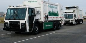 Mack Debuts LR Electric Refuse Truck