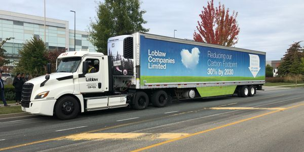 Loblaw is a member of Freightliner's electric vehicle council, and brought an eCascadia to...