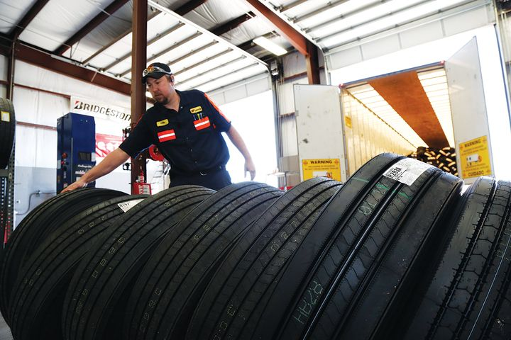 Love's Travel Stops has set up a digital communication network to help its fleet customers ensure they get the right tires, regardless of location or time of day. - Photo: Love's Travel Stops
