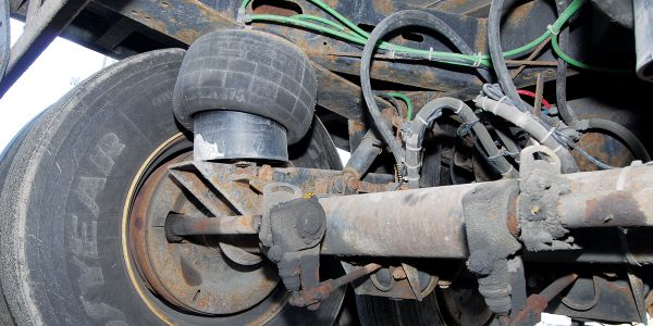 Corrosive road de-icing chemicals have lots of parts to stick to under a trailer.