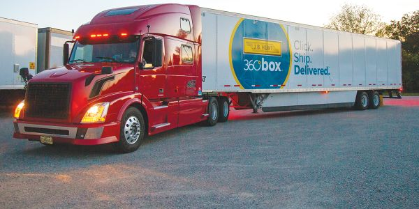 J.B. Hunt 360box is a new drop-and-hook service enhanced by a pool of 53-foot trailers. Carriers...