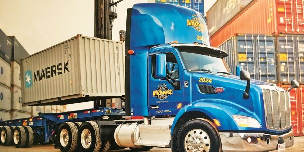 Midwest has diversified by hauling overweight as well as specialized bulk-oil intermodal...