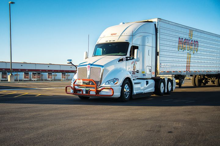 Navajo launched its own brokerage to help move more freight for shippers by capturing more of it to fill its own trucks and those of its owner-operator partners. - Photo: Navajo Express