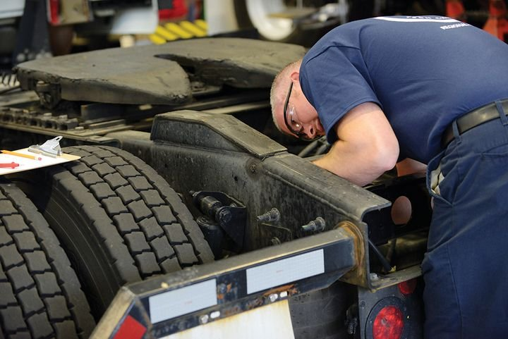 """One area that needs to be explored is how we lessen the burden of non-technical tasks consuming technician labor,"" says Joe Puff, vice president of truck technology and maintenance at NationaLease. - Photo: NationaLease"