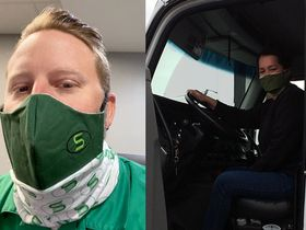 Fleets, Trucking Associations Work to Get Drivers Face Masks