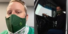 Fleets, Trucking Associations Work to Get Drivers Face Masks