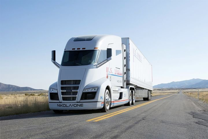Nikola Motor Company, which has received funding from the Department of Energy, has taken orders for about 14,000 of its heavy-duty hydrogen fuel cell trucks, which are not expected to be available until late 2022. - Photo: Nikola