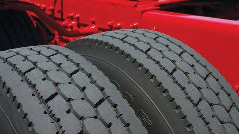 Shallower tread lowered rolling resistance, but fleets were not happy with the trade-off in tire...
