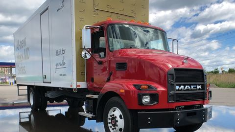 Mack's MD series opens new markets for the truck maker, whose customers previously had to go...