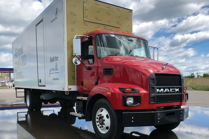 Mack's MD series opens new markets for the truck maker, whose customers previously had to go elsewhere for their medium-duty equipment. - Photo: Jim Park