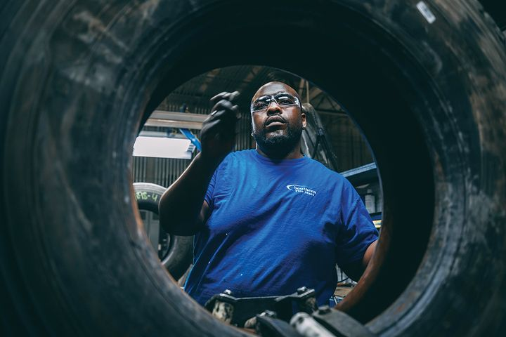"Do a shop tour, go into the manufacturing facility and learn about the process – what do they do to inspect the tires, to get them prepared for retreading?"" says Southern Tire Mart's John Boynton. - Photo: Southern Tire Mart"