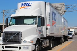 U.S. Treasury Gets a Stake in YRC as Part of $700 Million Loan Deal