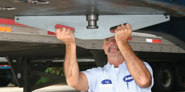 Kingpin inspections/maintenance should be conducted every three months or 30,000 miles.