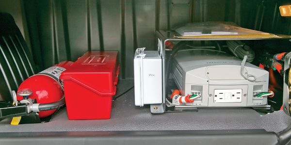 Inverters are usually installed under the bed or in a storage compartment. Care needs to be...