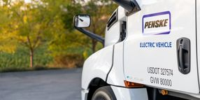What Penske Learned About Charging Electric Trucks