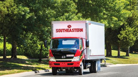 Fleets like Southeastern Freight Lines are looking for final-mile tires as they serve a booming...