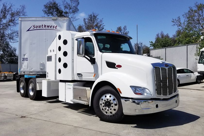 Loop Energy and Transpower will put this truck into drayage service at a southern California...
