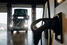 Electric-Truck Adoption Connected to Charging Infrastructure Development