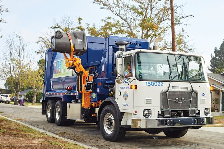 The City of Long Beach fleet is 45% alternative fueled and that percentage is growing. - Photo: City of Long Beach